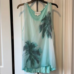 Two by Vince Camuto Mint colored Tank size XL